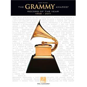 COMPILATION - THE GRAMMY AWARDS RECORD OF THE YEAR 1958 – 2011: EASY PIANO SONGBOOK