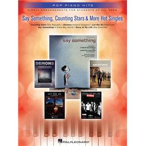 COMPILATION - POP PIANO HITS: SAY SOMETHING, COUNTING STARS & MORE HOT SINGLES