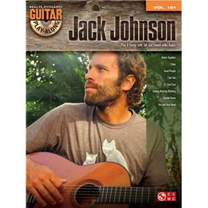 JOHNSON JACK - GUITAR PLAY-ALONG VOL.181 + CD