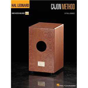 JENNINGS PAUL - HAL LEONARD METHOD CAJON + VIDEO ONLINE ACCESS