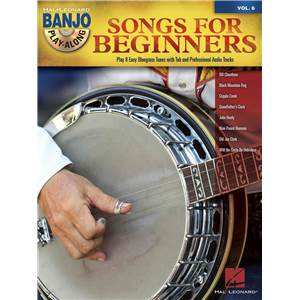 COMPILATION - BANJO PLAY-ALONG VOL.06 SONGS FOR BEGINNERS + CD