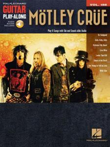 MOTLEY CRUE - GUITAR PLAY-ALONG VOL.188 MOTLEY CRUE + ONLINE AUDIO ACCESS