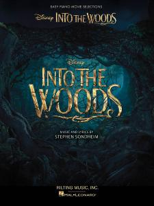 SONDHEIM STEPHEN - INTO THE WOODS EASY PIANO SELECTIONS FROM THE DISNEY MOVIE