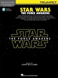 COMPILATION - INSTRUMENTAL PLAY-ALONG: STAR WARS THE FORCE AWAKENS TRUMPET  + ONLINE AUDIO ACCES