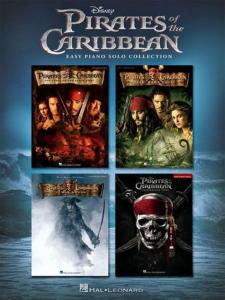 COMPILATION - PIRATES DES CARAÏBES (PIRATES OF CARIBBEAN) EASY PIANO SOLO COLLECTION