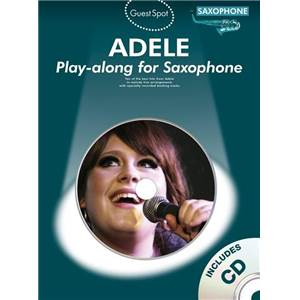 ADELE - GUEST SPOT SAXOPHONE + CD