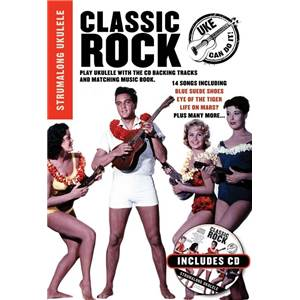 COMPILATION - CLASSIC ROCK STRUMALONG UKULELE + CD