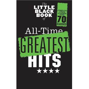COMPILATION - LITTLE BLACK SONGBOOK (POCHE) ALL TIME GREATEST HITS 70 SONGS