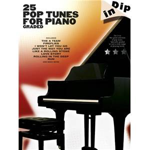 COMPILATION - DIP IN 25 GRADED POP PIANO SOLOS
