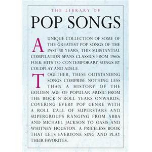 COMPILATION - THE LIBRARY OF POP SONGS P/V/G