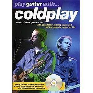 COLDPLAY - PLAY GUITAR WITH... + CD
