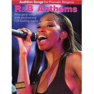 COMPILATION - AUDITION SONGS FOR FEMALE SINGERS : R&B ANTHEMS + CD