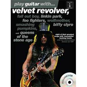 COMPILATION - VELVET REVOLVER, LINKIN PARK, BIFFY CLYRO... PLAY GUITAR WITH + CD