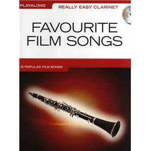 COMPILATION - REALLY EASY CLARINET FAVOURITE FILM SONGS + CD