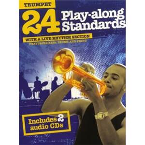 COMPILATION - 24 PLAY ALONG STANDARDS FOR TRUMPET + CD