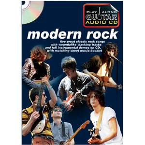 COMPILATION - MODERN ROCK PLAY ALONG GUITAR + CD