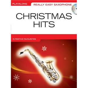 COMPILATION - REALLY EASY ALTO SAXOPHONE CHRISTMAS HITS + CD