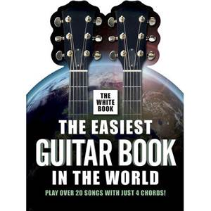 COMPILATION - EASIEST GUITAR VOL.IN THE WORLD THE WHITE BOOK