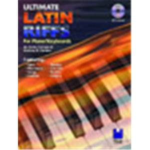 GORDON ANDREW D. - ULTIMATE LATIN RIFF PIANO + CD