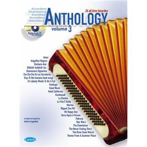COMPILATION - ACCORDEON ANTHOLOGY 24 ALL TIME FAVORITES VOL.3 + CD