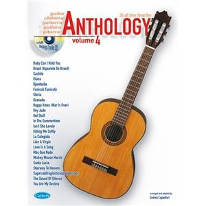 COMPILATION - ANTHOLOGY GUITARE VOL.4 24 ALL TIME FAVORITES + CD