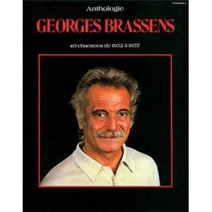 BRASSENS GEORGES - ANTHOLOGIE 40 CHANSONS P/V/G