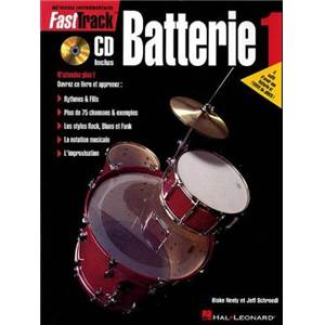 MATTINGLY - FAST TRACK BATTERIE 1 + CD