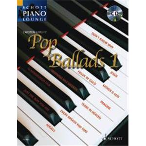 POP BALLADS VOL.1 (ARRANGEMENTS PAR GERLITZ CARSTEN) +CD - PIANO