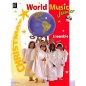 COMPILATION - WORLD MUSIC JUNIOR CHRISTMAS (NOEL) CONDUCTEUR + CD