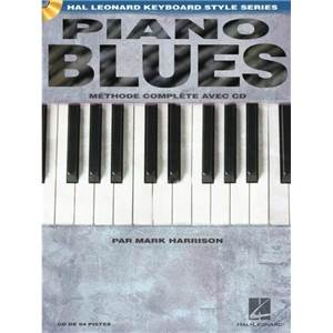HARRISON MARK - PIANO BLUES METHODE COMPLETE + CD
