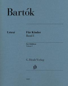 BARTOK BELA - POUR LES ENFANTS VOLUME 1 (FOR CHILDREN) - PIANO