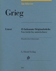 GRIEG EDVARD - AM KLAVIER (15 PIECES ORIGINALES) - PIANO