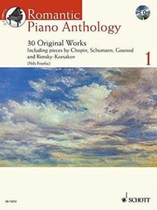 ROMANTIC PIANO ANTHOLOGY VOL.1 +CD - PIANO