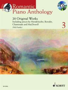 ROMANTIC PIANO ANTHOLOGY VOL.3 +CD - PIANO