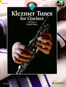 KLEZMER TUNES FOR CLARINET +CD (24 AIRS KLEZMER) - CLARINETTE