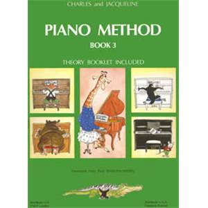 HERVE/POUILLARD - PIANO METHOD BOOK 3 - PIANO
