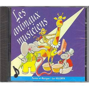 VILLEMIN LUC - CD SEUL ANIMAUX MUSICIENS - CD