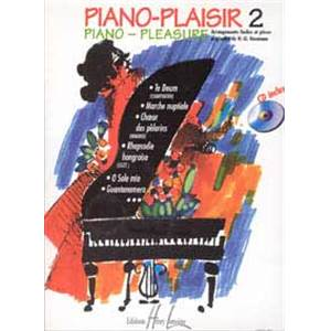 HEUMANN HANS GUNTER - PIANO-PLAISIR VOL.2 + CD - PIANO