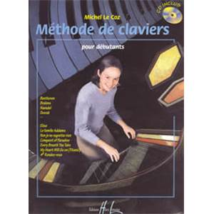 LE COZ MICHEL - METHODE DE CLAVIERS + CD