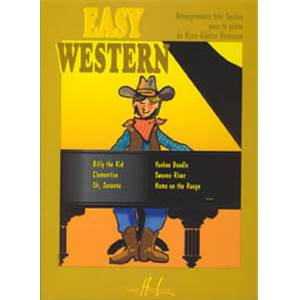 HEUMANN HANS GUNTER - EASY WESTERN PIECES FACILES POUR PIANO