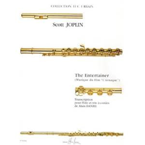 JOPLIN SCOTT - THE ENTERTAINER - L'ARNAQUE - FLUTE ET TRIO A CORDES (CONDUCTEUR ET PARTIES)