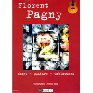 PAGNY FLORENT - ALBUM 2 CHANT/GUITARE