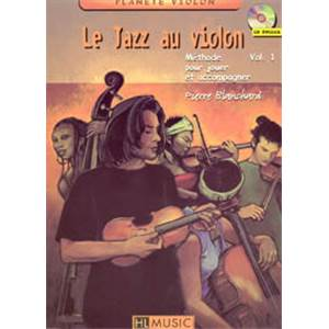 BLANCHARD P - LE JAZZ AU VIOLON VOL.1 + CD