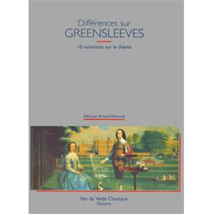 DUMOND ARNAUD - DIFFERENCES SUR GREENSLEEVES - GUITARE