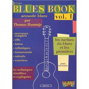 HAMMJE THOMAS - BLUES VOL.ACOUSTIC BLUES VOL.1 + CD