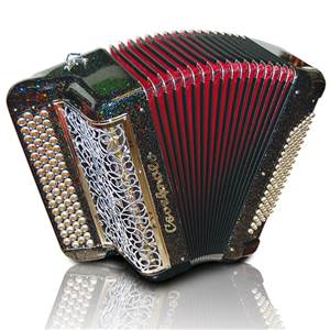 ACCORDEON BOUTONS CAVAGNOLO ORCHESTRE 5 NEW TECH COULEUR BOIS