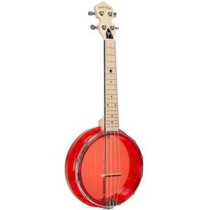 UKULELE BANJO GOLD TONE LITTLE GEM LG-R ROUGE RUBY