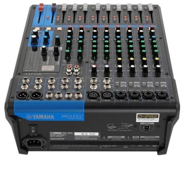 Table de mixage yamaha mg12xu - Table de mixage professionnelle studio ...
