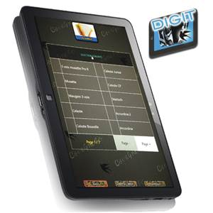 APPLICATION MILLENIUM POUR TABLETTE D'ACCORDEON CAVAGNOLO DIGIT LB 9+ MILLENIUM