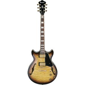 GUITARE DEMI-CAISSE IBANEZ AM93-AYS ANTIQUE YELLOW SUNFURST